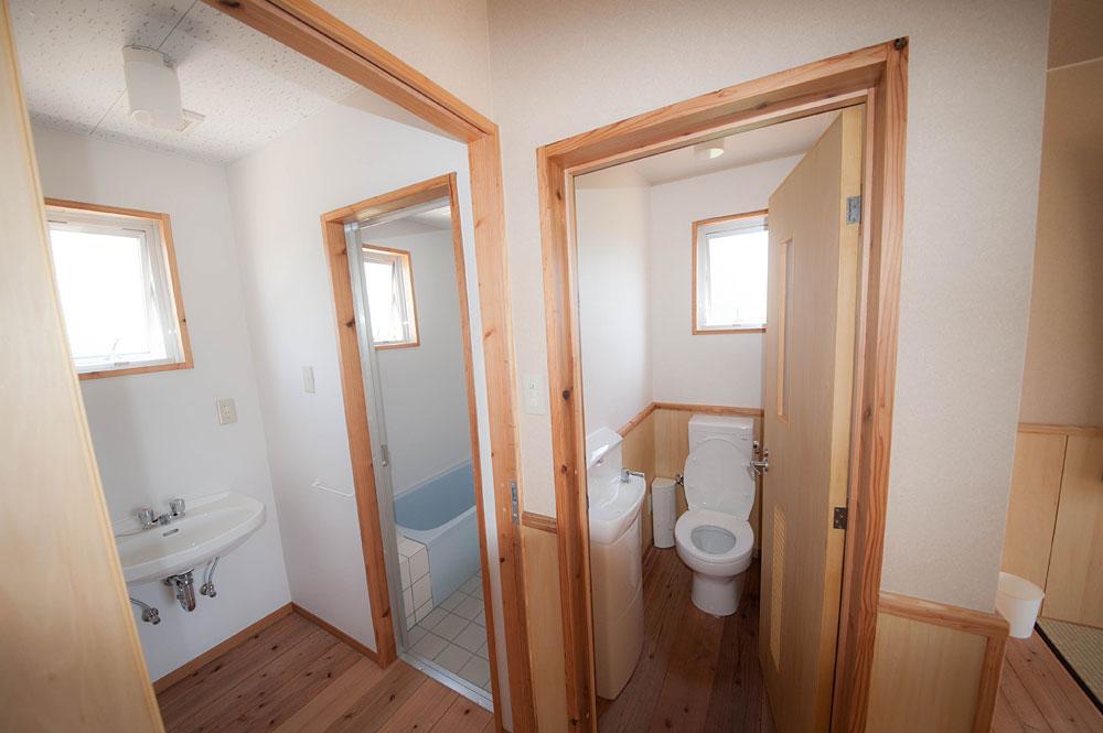バストイレ|宮古島の民宿 あがりの宿さんさーら