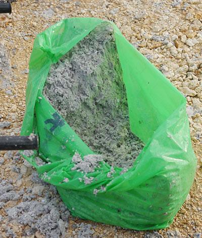 芝生の種と混ぜるパルプみたいの|宮古島の民宿 さんさーら