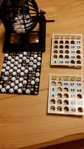 宮古島の民宿、あがりの宿さんさーらのビンゴゲーム