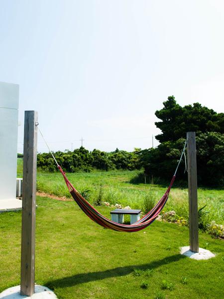 ハンモック|宮古島の民宿あがりの宿さんさーら