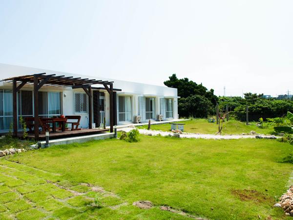 共用庭|宮古島の民宿あがりの宿さんさーら