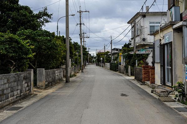多良間島市街地