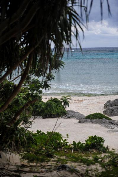 多良間島のビーチ