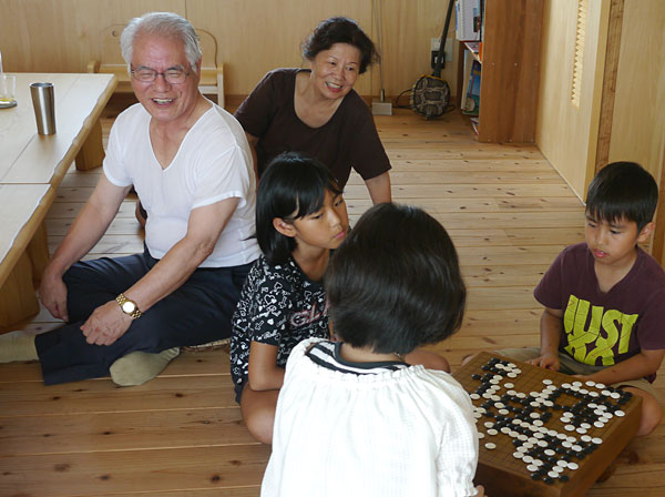 囲碁対局|宮古島の民宿 あがりの宿さんさーら