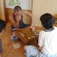 囲碁対局 宮古島の民宿 あがりの宿さんさーら